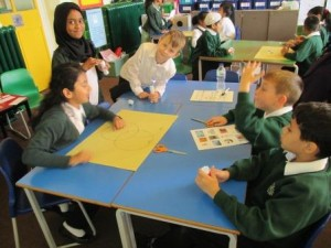 Year 4 were excited to classify solids, liquids and gases.