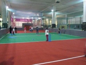 The girls and their mums loved learning a new sport for them - Quick Cricket!